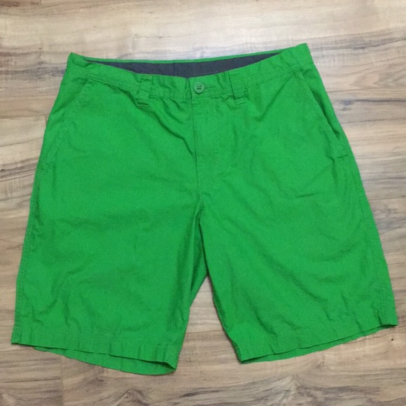 Columbia Other - Columbia Green Flat Shorts Sz 34